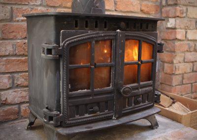 Cottage stove in Ireland