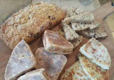 collection of irish breads