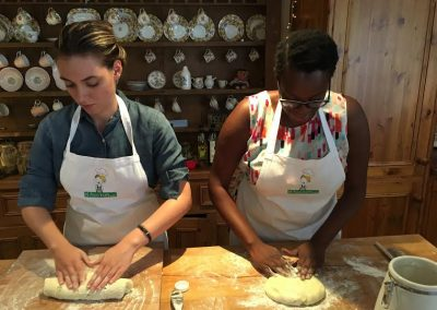learning how to knead soda bread