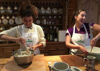 learning to bake irish bread