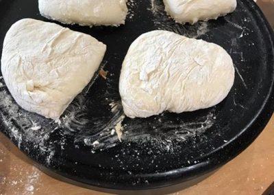 soda bread making